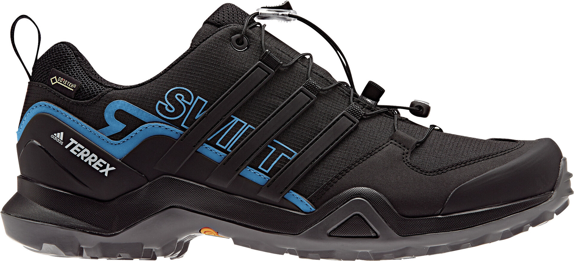 adidas Terrex Swift R2 Mid GTX Chaussures de randonnée Core Black Core Black Core Blue | 7,5 (UK)